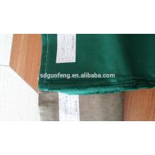 Tissu 21 * 21 et 20 * 16Poly de tissu de vêtements imperméables de TC de sergé de couleur unie