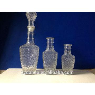 High Quality Fancy Glass Wine Bottles Liquor Bottles