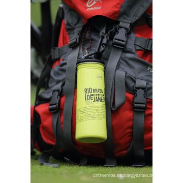 Ssf-580 / Ssf-780 Tainless Steel Single Wall botella de agua para deportes al aire libre Ssf-580