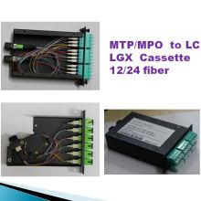 12-контактная кассета MTP с LC Lgx MTP