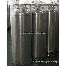 175L geschweißter isolierter Zylinder