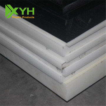 100% vigin branco/preto Acetal Derlin Boards