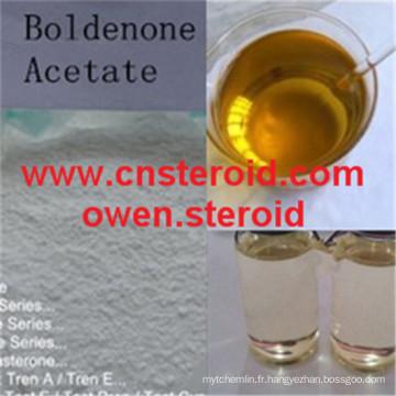 Actif de muscle de bodybuilding de qualité de poudre d'acétate de Boldenone