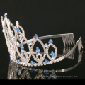 Custom Simple Design Crown Rhinestone Tiara Crystal Crowns