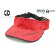 Kundenspezifischer Entwurfs-leerer Sport-Sonnenblende-Kappe