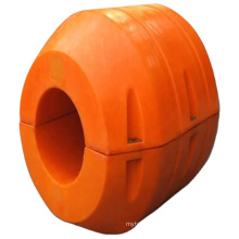 Deers polyurethane pontoon pipe floater with inner diameter different