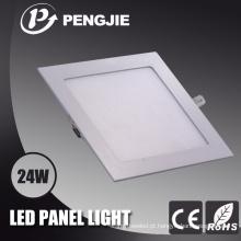 Preço de fábrica ultra fino do quadrado SMD2835 da luz de painel do diodo emissor de luz