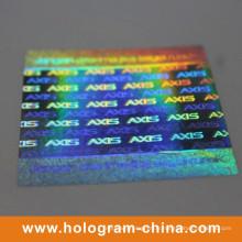 Authentique Autocollant Étiquette Holographique 3D De Sécurité Laser