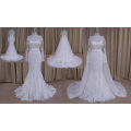 Detachable Skirt Bridal Wedding Dress