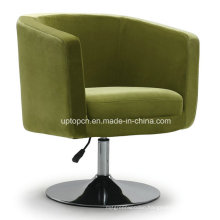 Modern Style Green Leather Leisure Hotel Cafe Sofa (SP-HC093)