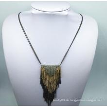 Mehrere Ebenen Bunte Kette Halskette (XJW13778)