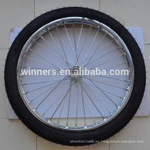 Rueda sulky de la rueda del carro del neumático 2.50-18 de la motocicleta
