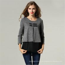 European Style Fashion Damen Gefälschte Zweiteilige Oberbekleidung (50014)
