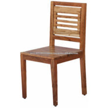 Block Wooden Dining Chair