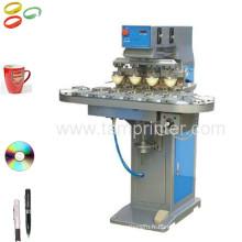 TM-C4-P 4 couleur CD/Golf Cup Ball Pad Printing Machine tampon Printer avec convoyeur