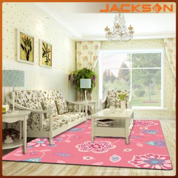 Pink Interior Home Decorative Carpet