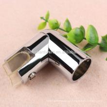 Material de latão anti-ferrugem anti-ferrugem para a maioria dos vendedores de alta qualidade, conector de vidro, conector de barra de suporte
