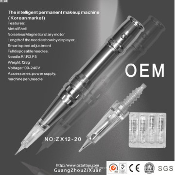 Tattoo & Permanent Makeup Machine Pen (ZX-1221)