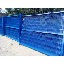 China Factory Good Quality 100mm*50mm Mesh Size Temporary Fence