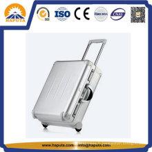 Valise Trolley en aluminium promotionnel avec & roues de voyage