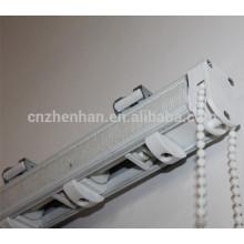 Roman blind componentes-unidade de controle, cadeia de cortina, suporte de metal, rolo de fita, faixa de cabeça, cabo romano sombra-romana Um conjunto cego