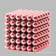 Grânulos magnéticos com várias cores
