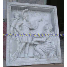 Stone Marble Wall Relief Sculpture for Wall Art Decoration (SY-R030)