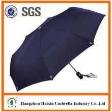 Günstigen Preisen!! Fabrik liefern 2 Falten Auto offene Förderung Regenschirm mit krummen behandeln