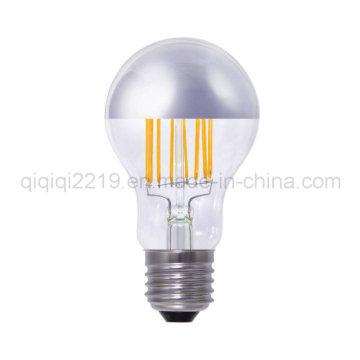 6.5W Silver Mirror A60 Dim Desk Lamp