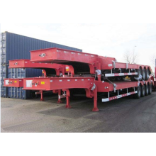 4 axle 100Ton semi low loader trailer