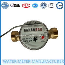Dn15-20mm Single-Jet Water Meter with Pulse Output