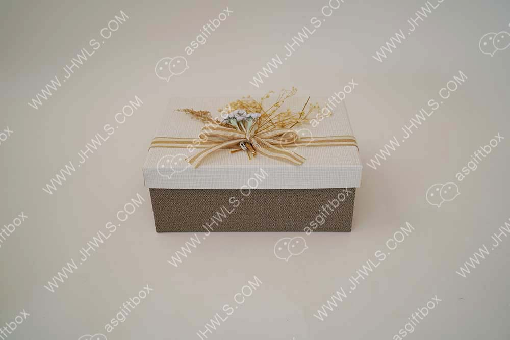 Light color gift box