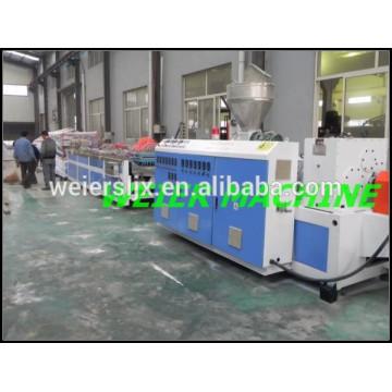 Ligne machine porte panneau d'extrusion de PVC WPC avec le prix bas