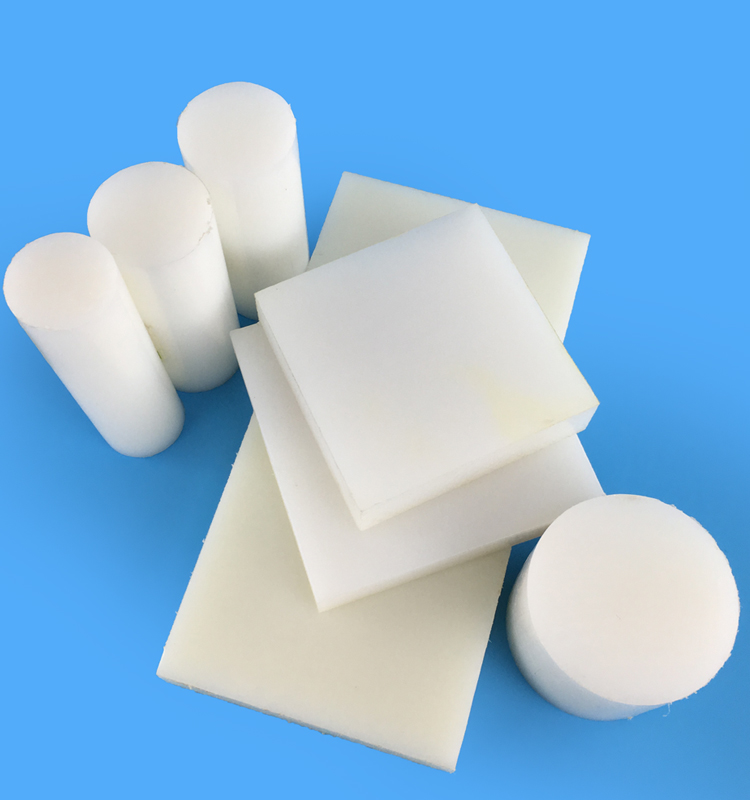 Customsized Plastics White Nylon 6