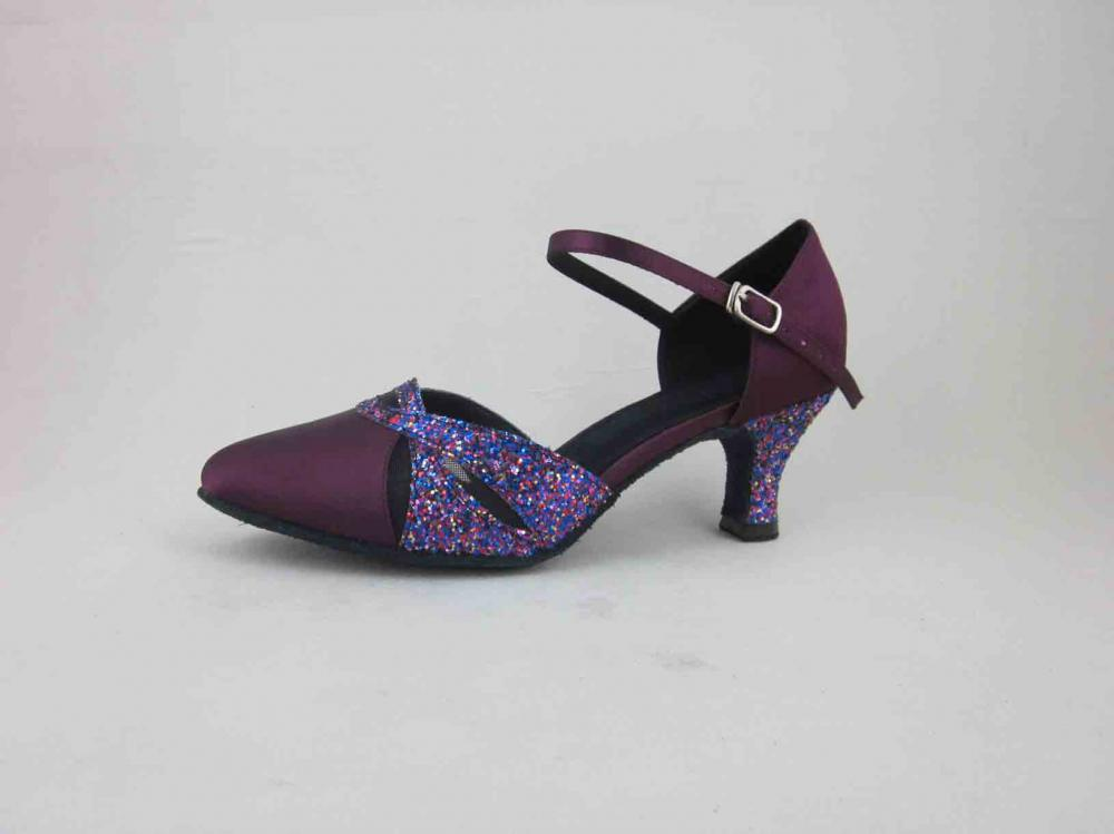 Kids Purple Ballroom Dance Shoes Size 11