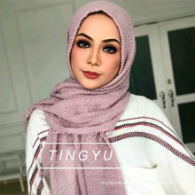 Fashion muslim women hijab wholsale muslim scarf crinkle bubble hijab