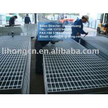 Grelhas de metal galvanizado