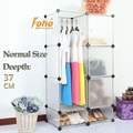 White Plastic DIY Storage Cbinet with Many Colors Available (FH-AL0523-3)
