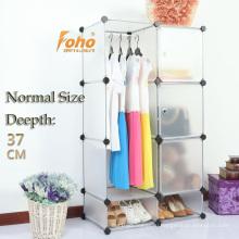 Белый Пластиковые DIY Cbinet хранения с много цветов доступных (FН-AL0523-3)