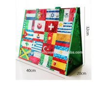 Flag PP woven bag/camouflage shopping bags