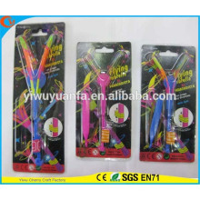 Hot Selling High Quality Colorful LED Slingshot Helicopters Flare Copters Toys