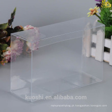 Alta quanlity atacado caixa de embalagem de plástico rígido PVC claro