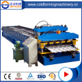 Glasad takläggning Tile Roll Forming Machine