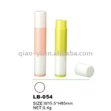color lip balm tubes