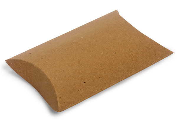 Kraft Pillow Box 1