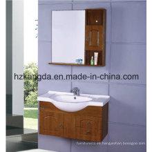 Gabinete de baño de madera maciza / vanidad de baño de madera maciza (KD-418)