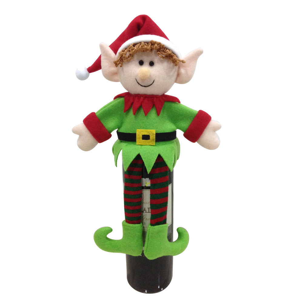 3d Magic Elf Wine Bottle Cover Bag