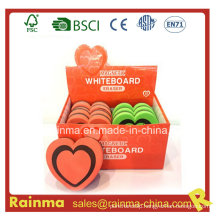 Heart EVA Magnetic Whiteboard Eraser