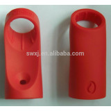 Silicone rubber handle