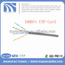 Beige Cat5e UTP Lan Cable 305M